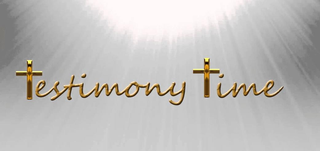 Testimony Time 1