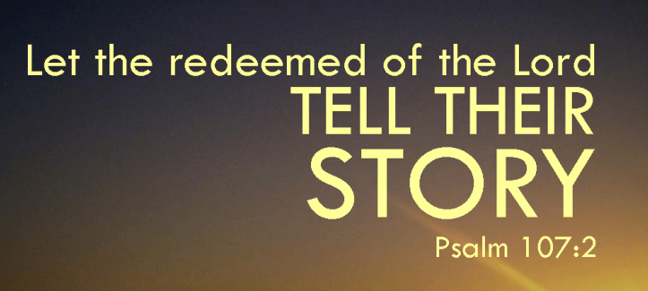 Let the redeemed tell All Posts