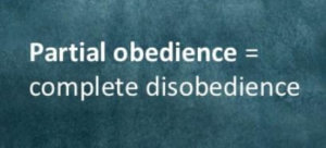 Partial Obedience is complete disobedience Fraudulent Faith Life of TPM Ministers