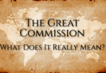 The great commision 1 All Posts