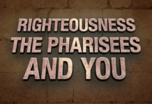 Pharisee righteousness 1 All Posts