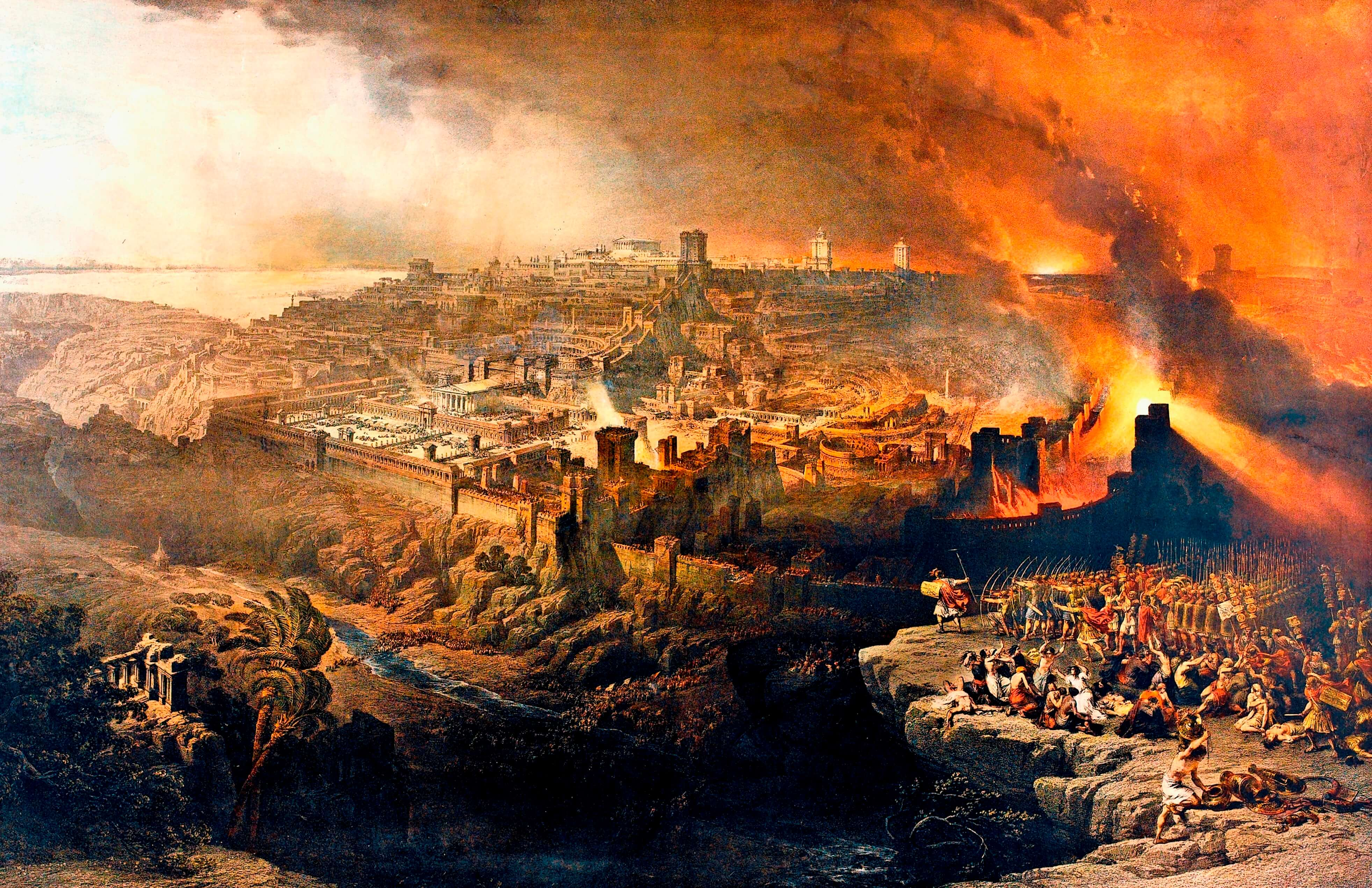 Destruction of Jerusalem fromtpm.com