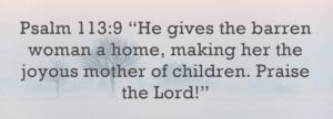 Barren woman home Venom Removal Series- Gospel in Genesis-9