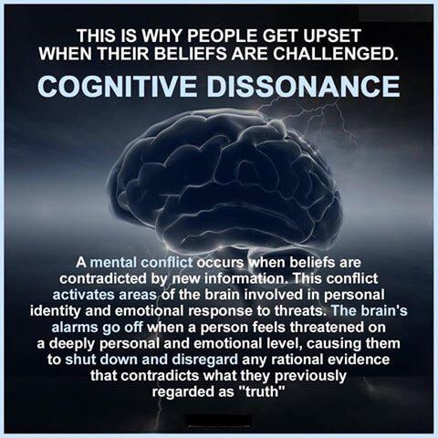 Paul Explains Cognitive Dissonance