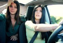 ladies in car 1