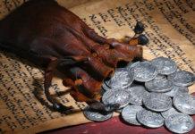 Judas and the money bag 1