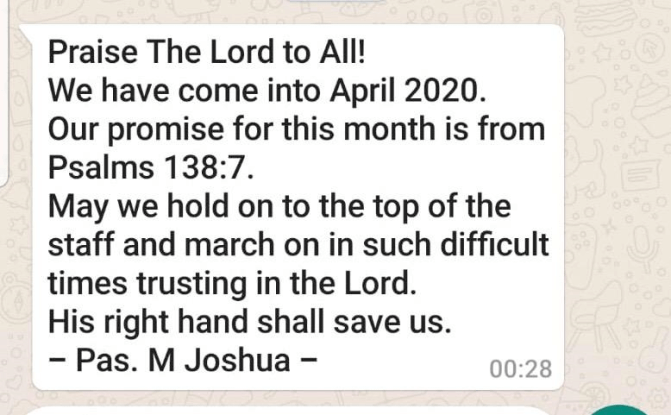 New Month Promise