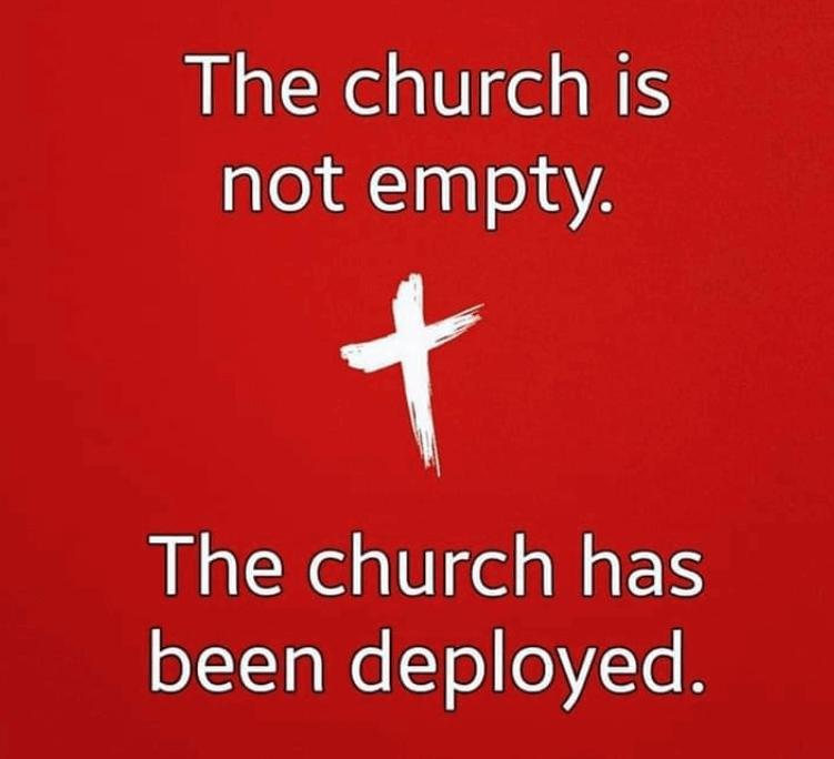 Church is not empty 1