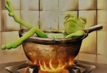 Frog bathtub 1