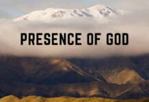 Presence of God 1 All Posts