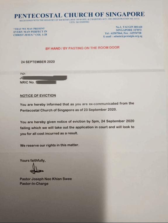 Joe Neo Letter 1